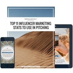FREE INFLUENCER INDUSTRY STATS CHEAT SHEET