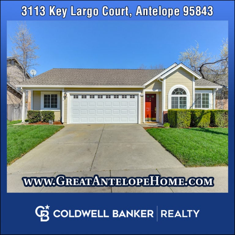 3113 Key Largo Antelope Home For Sale