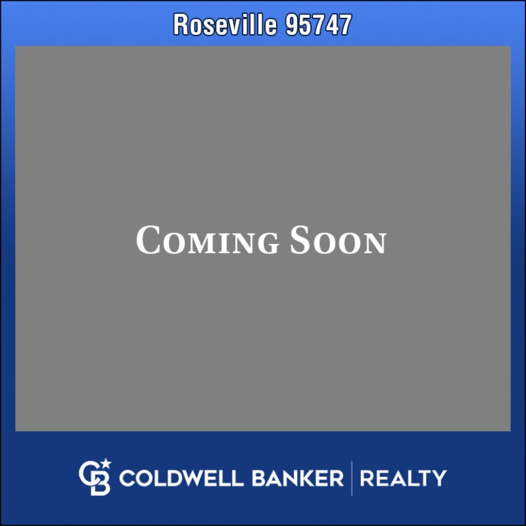 Roseville Home for Sale Coming Soon 95747