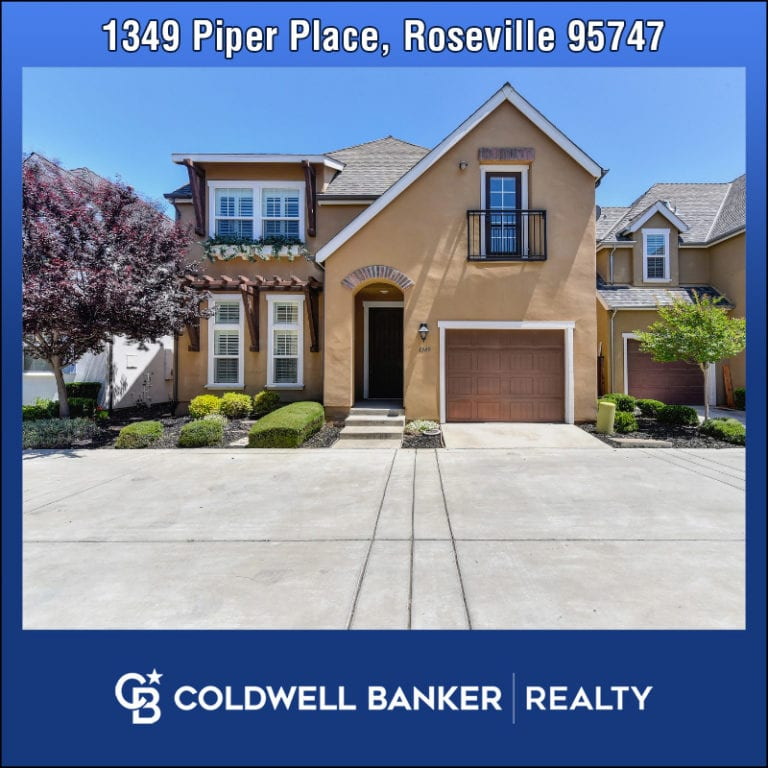 Listing 1349 Piper Place Roseville 95747