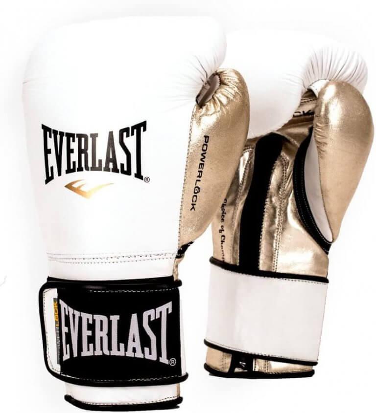 gant de boxe everlast blanc