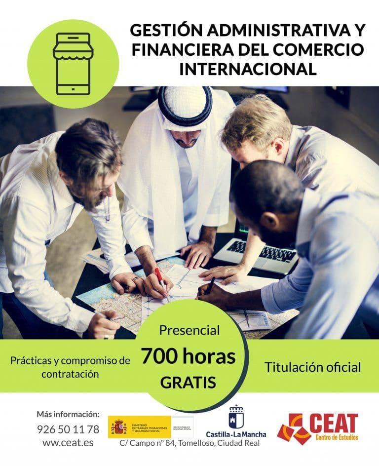 Certificado de profesionalidad de gestión administrativa y financiera del comercio internacional