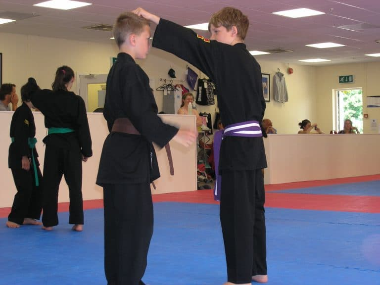 Activities for Kids in our Karate club include self defence and anti bullying skills