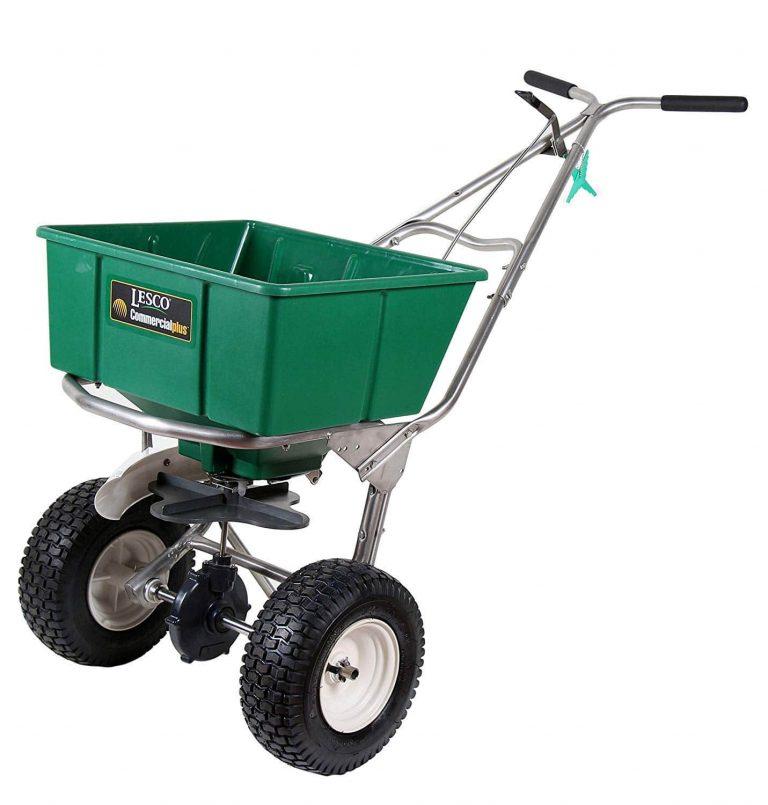 Lesco High Wheel Fertilizer Spreader 101186 image