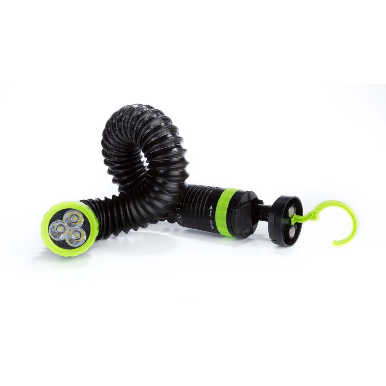 All-In-One LED Flashlight green