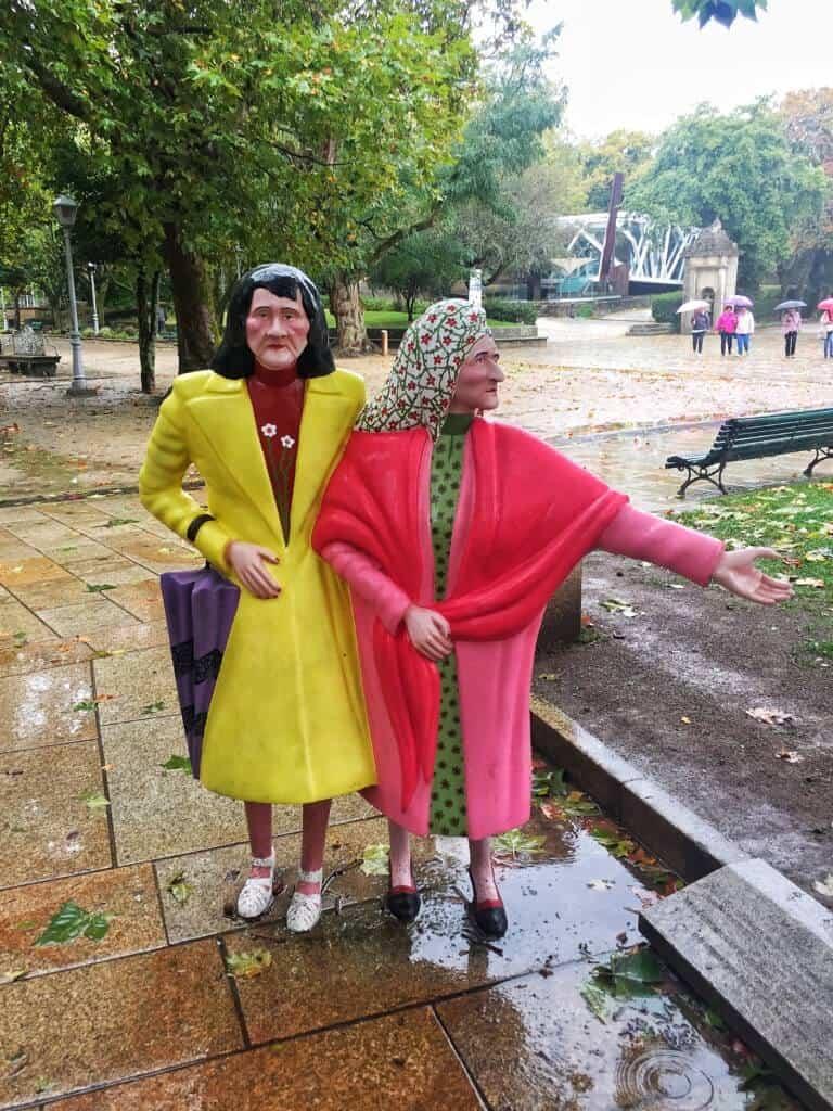 The Two Marias of Santiago de Compostela