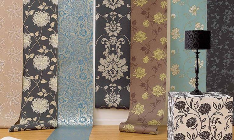 Обои текстильные для жилых помещений очень разнообразны