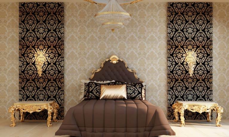 Способы наклейки и крепления текстильных обоев на стены