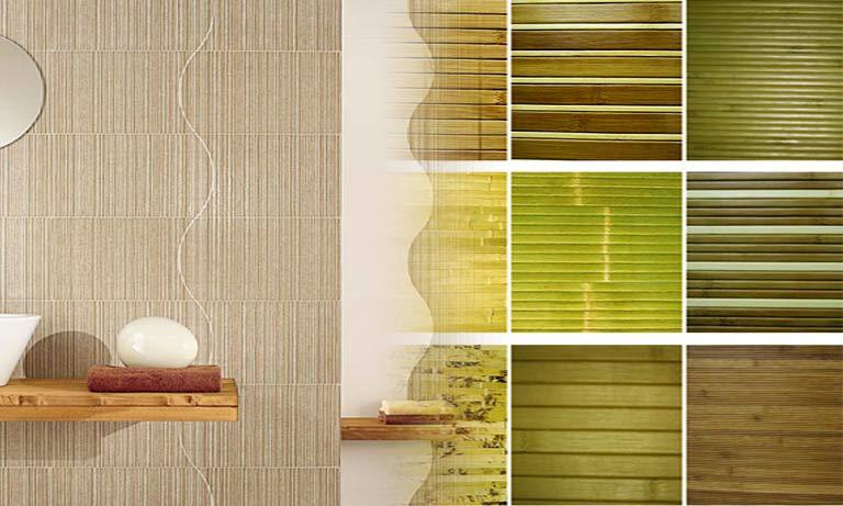 Виды бамбуковых обоев для интерьера