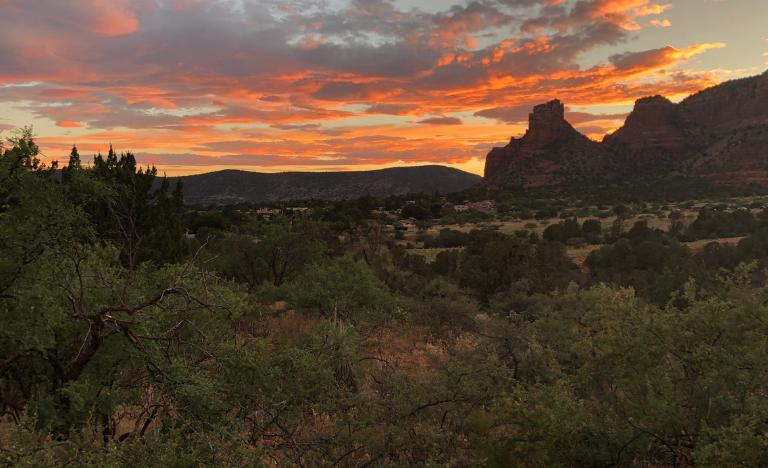 Sedona, Sedona sunset, History of Sedona