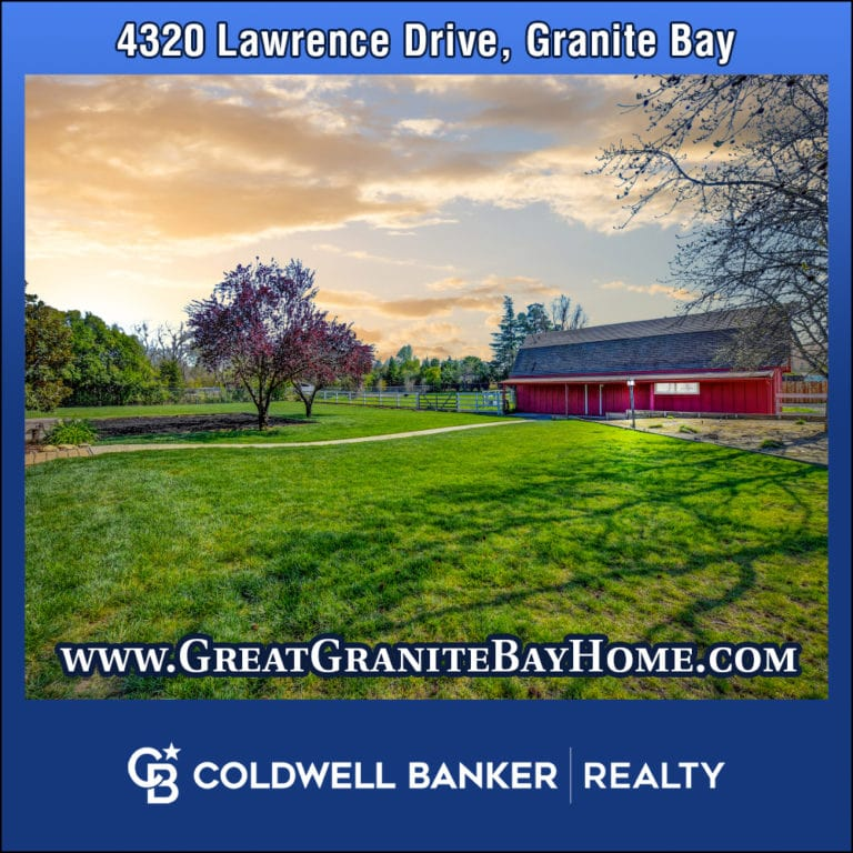 4320 Lawrence Drive Granite Bay