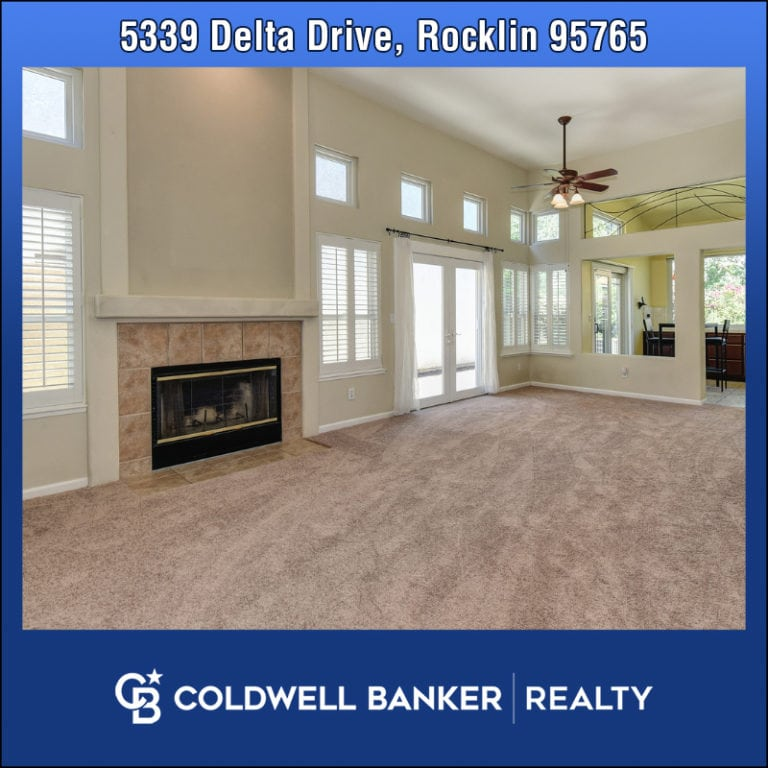 Home for sale 5339 Delta Drive Rocklin