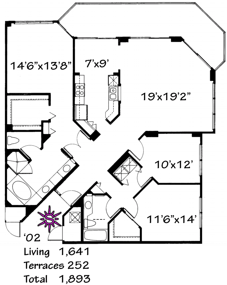 Bay Shore Place Floor Plan '02