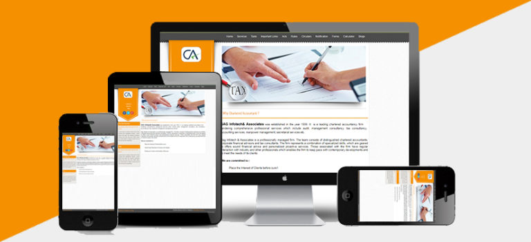 Ca website development