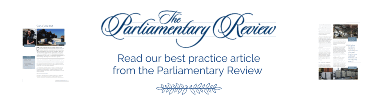 SubCool FM Parliamentary Review Best Practice Article link