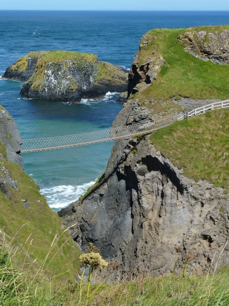 Carrick a Rede Bridge Ireland Antrim