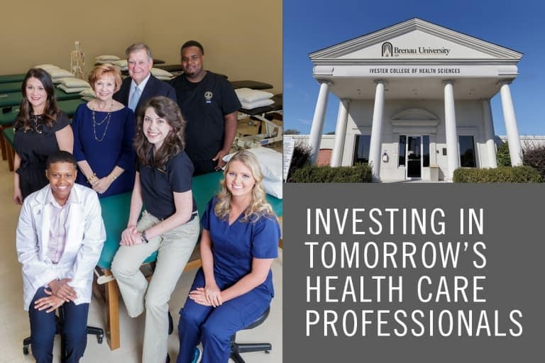 Winter 2018: Investing in Tomorrow's Health Care Professionals