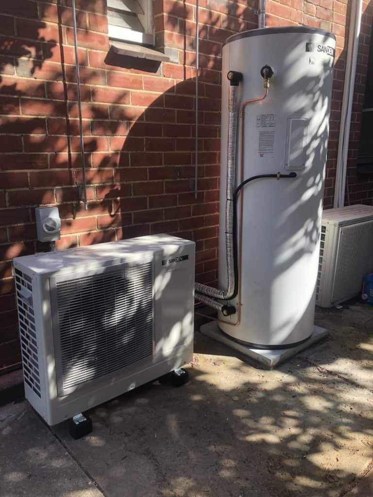 Sanden Heat Pump installed in Hampstead Gardens