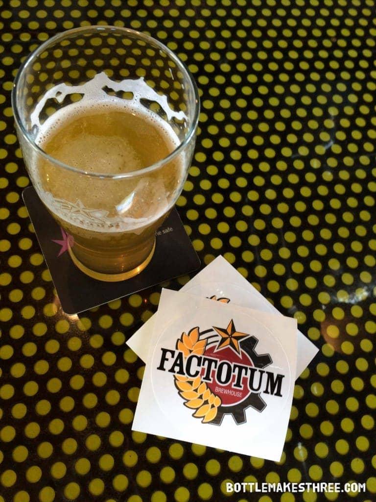 Factotum Brewhouse, Denver CO   bottlemakesthree.com