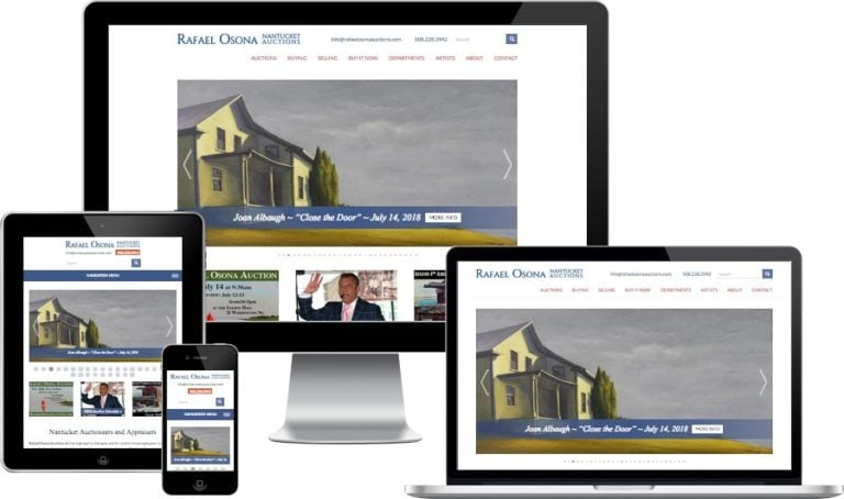 Nantucket website design