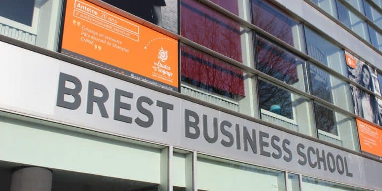 Brest business school exterior