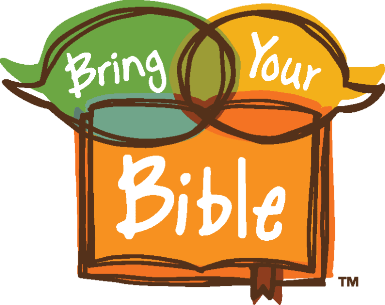 Bring Your Bible to School Day Logo Lockup with the Words Beneath