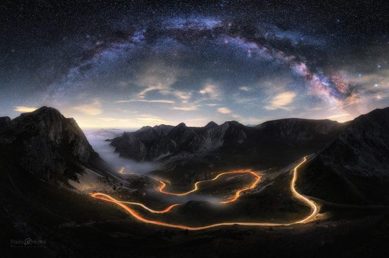 A caccia di stelle e di scie luminose: ecco le Night Visions di Paolo Lombardi