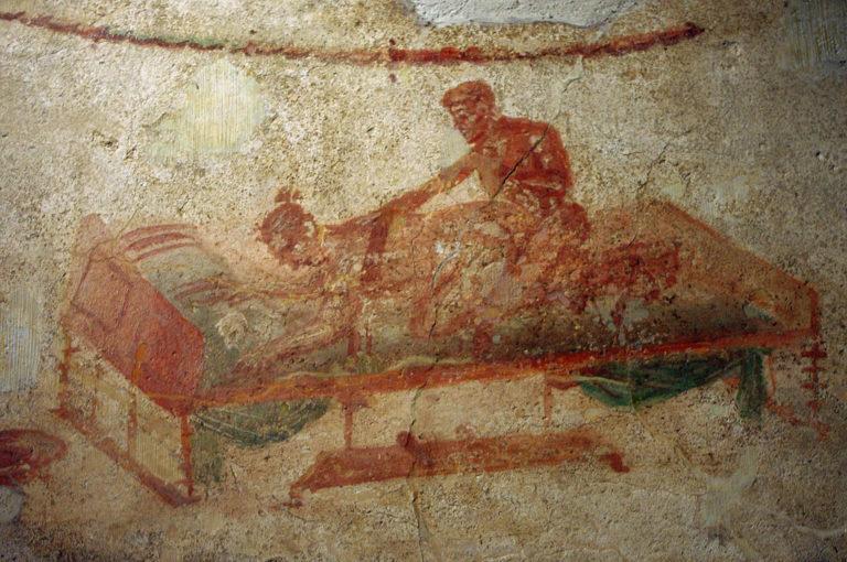 Se i muri potessero parlare: le iscrizioni d'amore di Pompei
