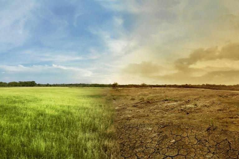 L'allarme dei cambiamenti climatici