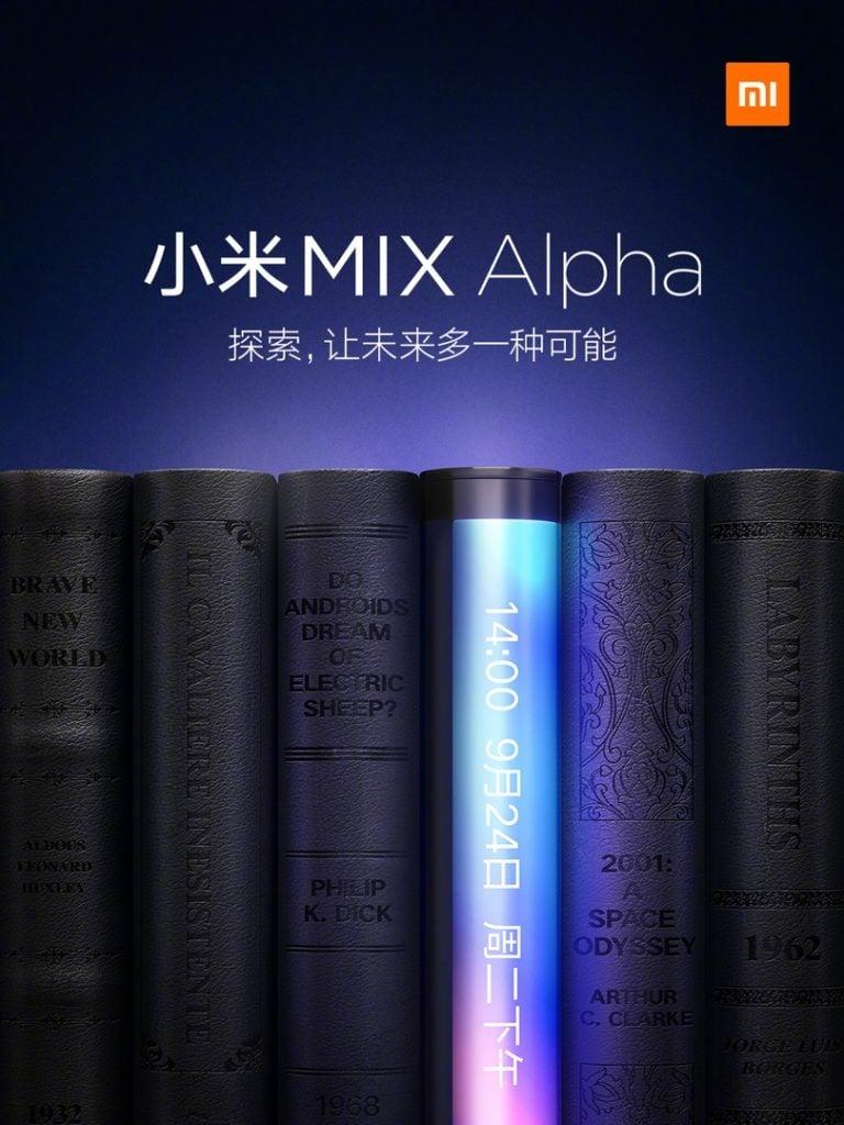 Mi Mix Alpha lojas