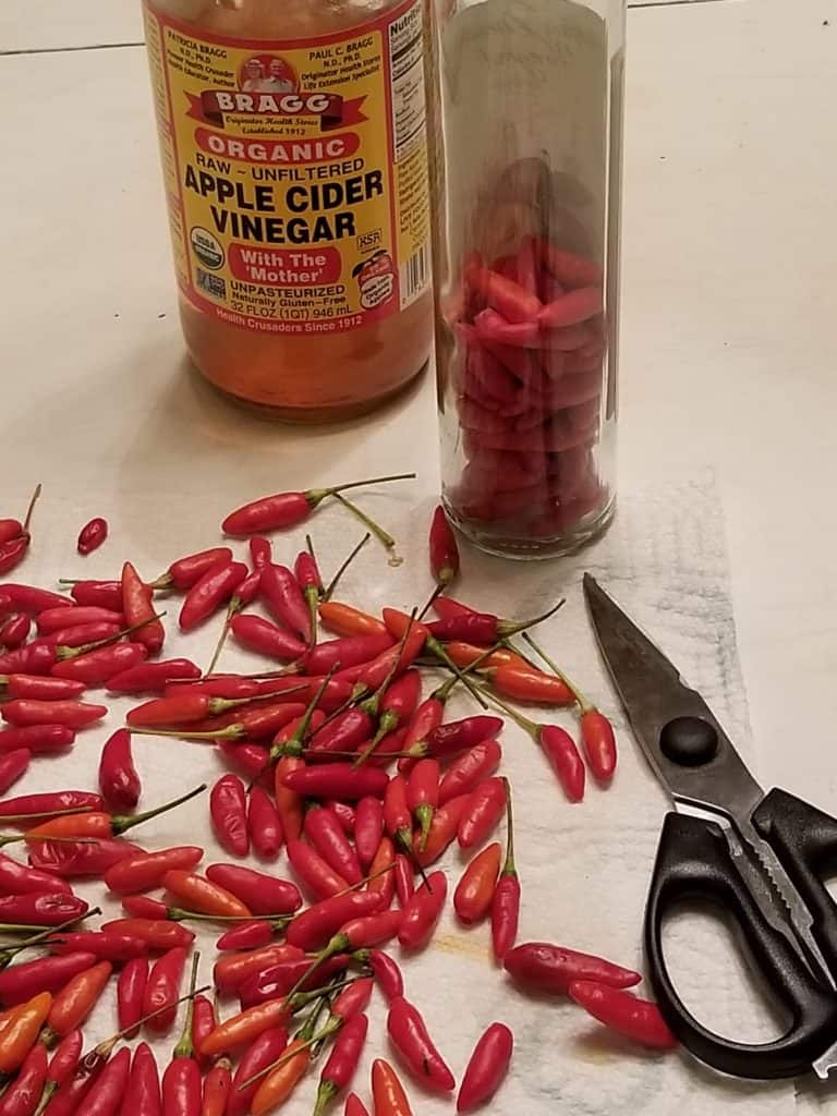 How to make Pepper Vinegar, Pepper Sauce