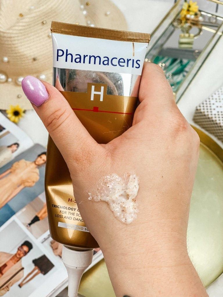 peeling do skóry głowy - pharmaceris