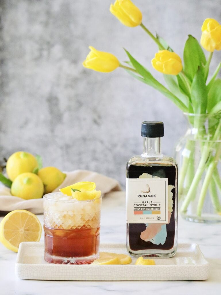 amber old fashioned