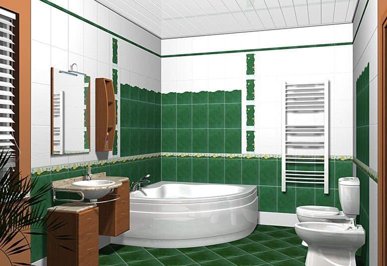 3D-программы для раскладки ванной плитки