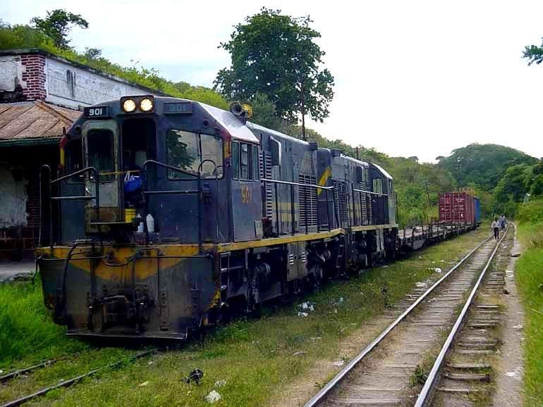 Locomotora 901 del Ferrocarril del Norte