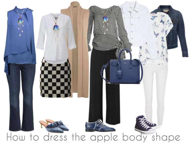 How to dress the apple body shape - the best tops and bottoms