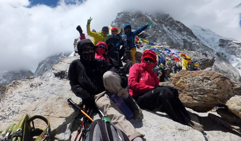 Everest Chola pass Via gokyo lake trek