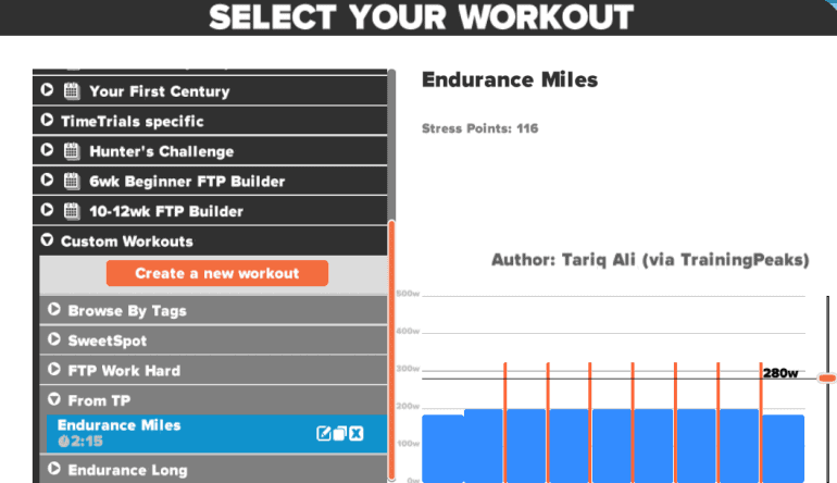 TrainingPeaks Adds Structure Workout Export To Zwift