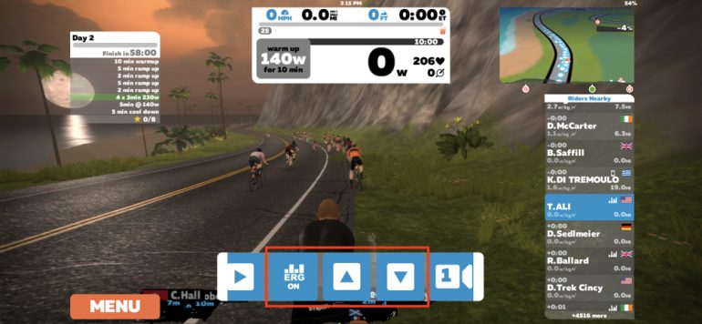 Zwift Group Workout Takes Community Interaction To the Next
