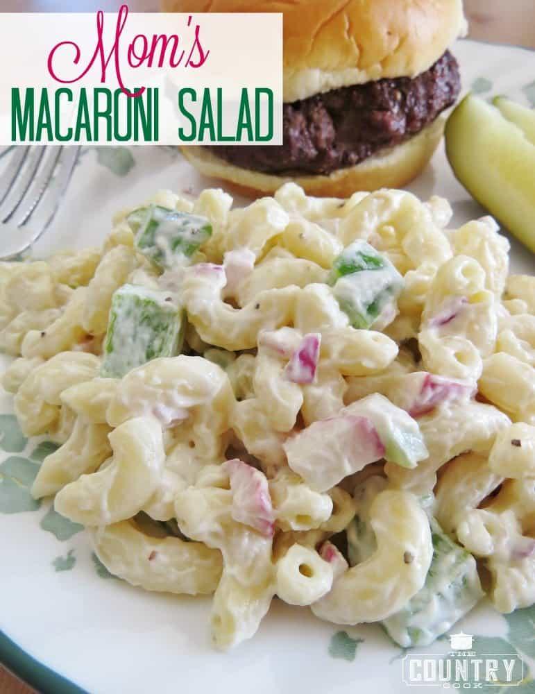 Mom's Macaroni Salad