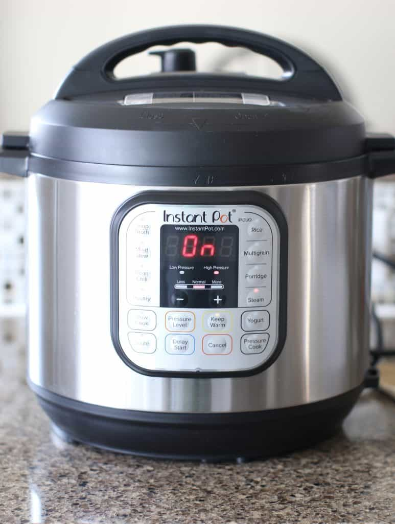 Instant Pot steam setting