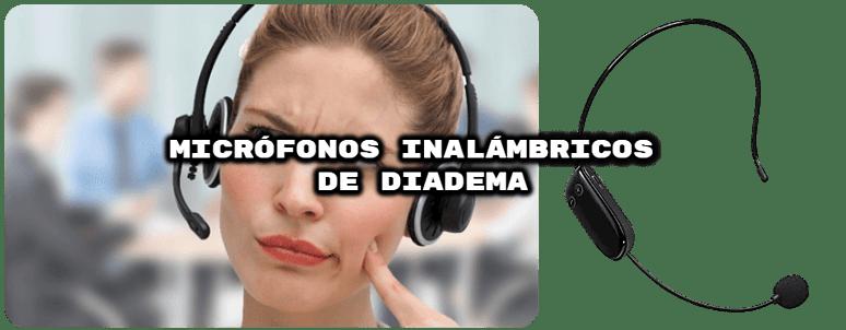 comparativa mejores micrófonos inalámbricos diadema