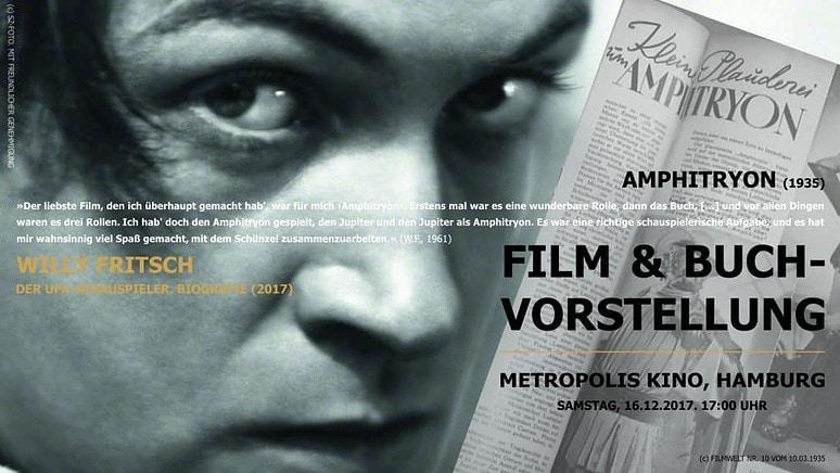 Lesung Hamburg Amphitryon Metropolis Kino