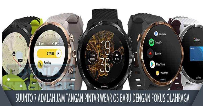 Suunto 7 adalah jam tangan pintar Wear OS baru dengan fokus olahraga