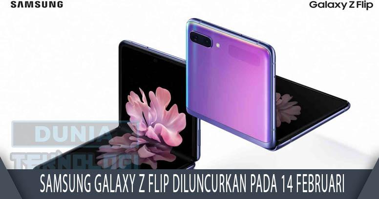 Samsung Galaxy Z Flip diluncurkan pada 14 Februari