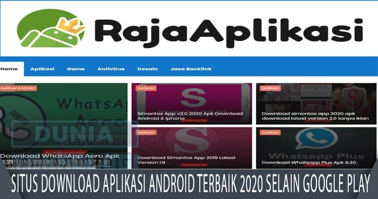 Situs Download Aplikasi Android Terbaik 2020 Selain Google Play