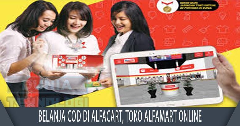 Belanja COD di Alfacart, Toko Alfamart Online