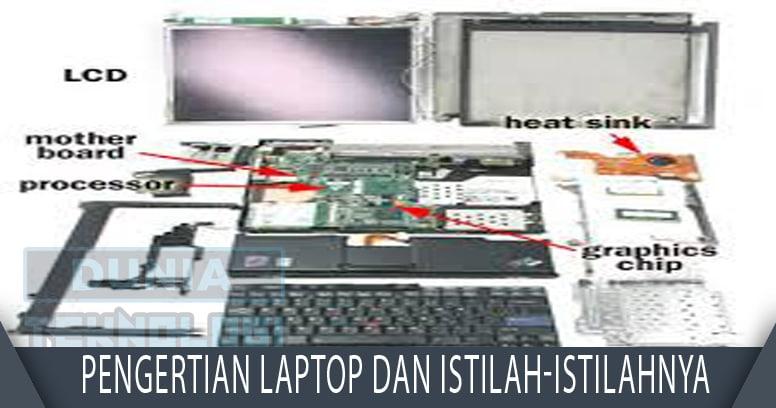 Pengertian Laptop dan Istilah-istilahnya