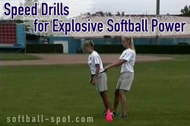 softball speed drills
