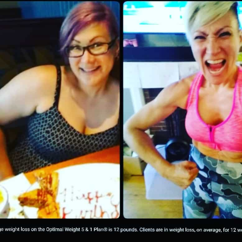 A developing of self confidence after fitness and diet
